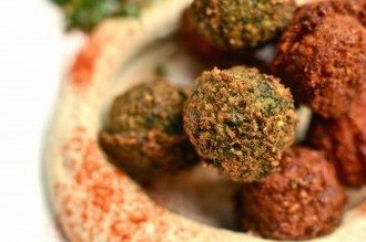 Hummus-Falafel-side